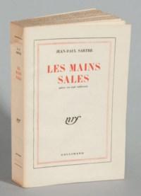 SARTRE, Jean-Paul (1905-1980). Les Mains sales. Pièce en sept tableaux. Paris: NRF, 1948.