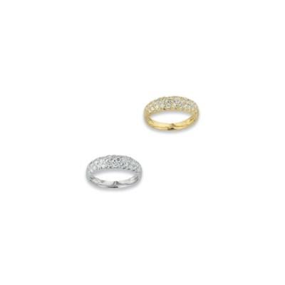 BAGUE DIAMANTS, PAR VAN CLEEF