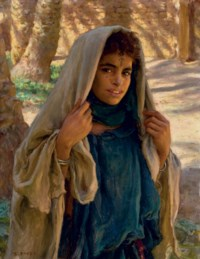 Jeune fille de Bou Saâda