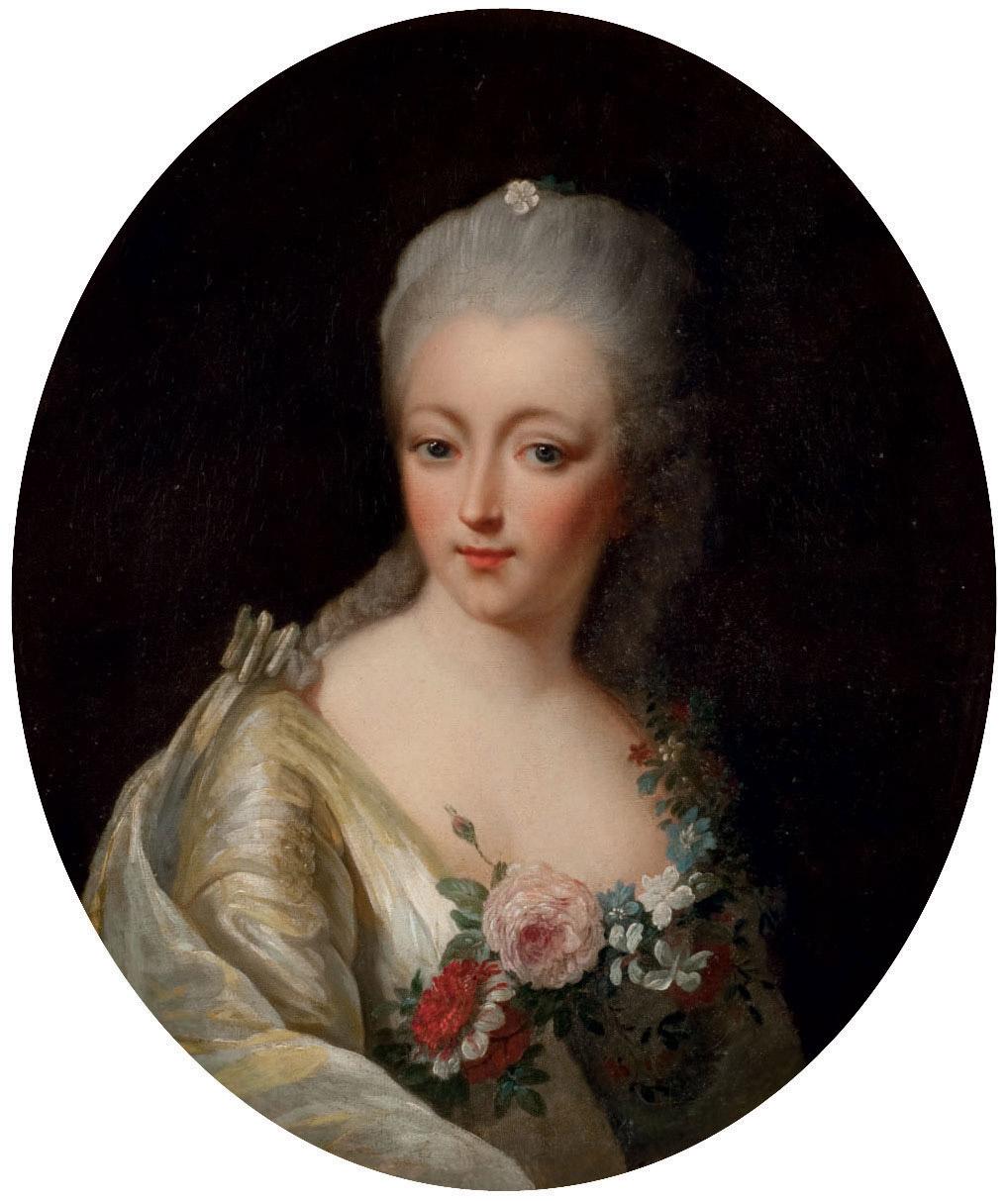 Portrait présumé de la Comtesse du Barry