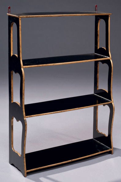 etagere murale moderne xixeme siecle christie 39 s. Black Bedroom Furniture Sets. Home Design Ideas