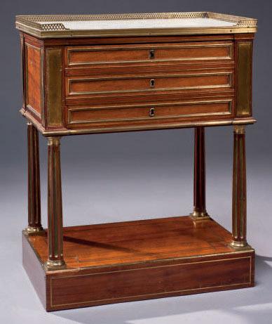 table de chevet de style directoire xixeme siecle christie 39 s. Black Bedroom Furniture Sets. Home Design Ideas