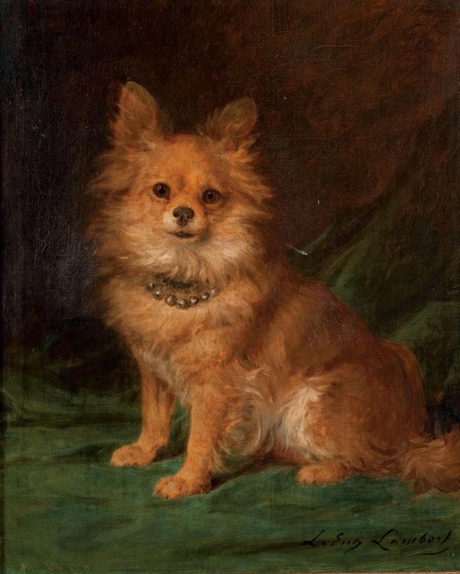 LOUIS EUGENE LAMBERT (PARIS 1825 - 1900)
