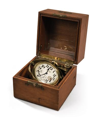 PENDULE MARINE PAR WALTHAM WATCH CO