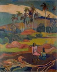 Les Cocotiers, d'après Paul Gauguin