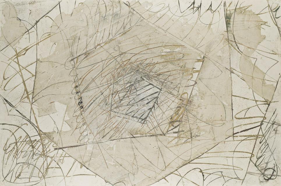 Labyrinthe ocre
