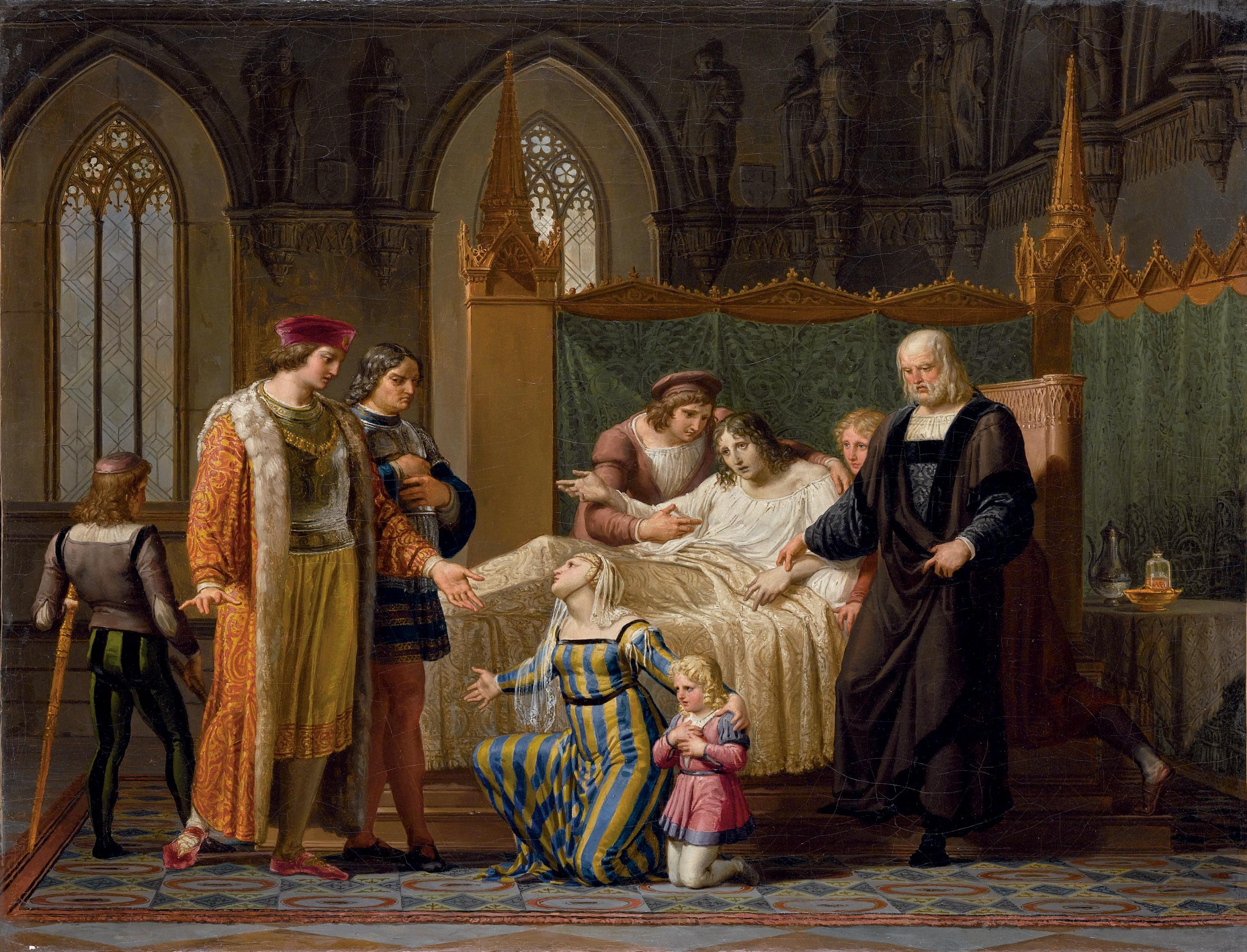 L'incontro di Carlo VIII e Gian Galeazzo Sforza a Pavia nel 1494