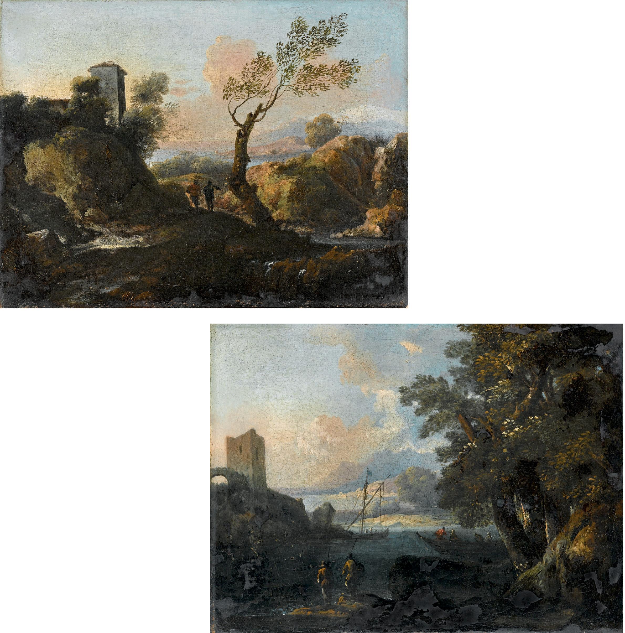 Paesaggio; e Marina