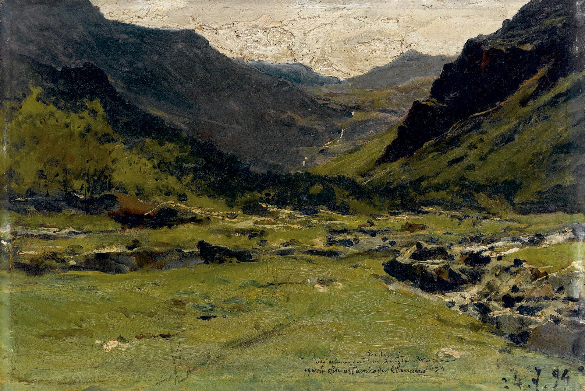 Lorenzo Delleani (Pollone Biellese 1840-1908 Torino)