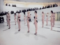 Untitled (Performance, detail, 1998, Solomon R. Guggenheim Museum, New York, NY)