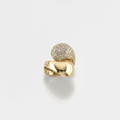 ANELLO IN ORO E BRILLANTI, FIR