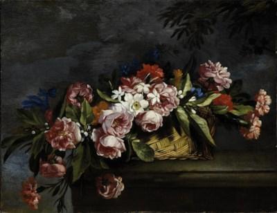 Seguace di Abraham Brueghel