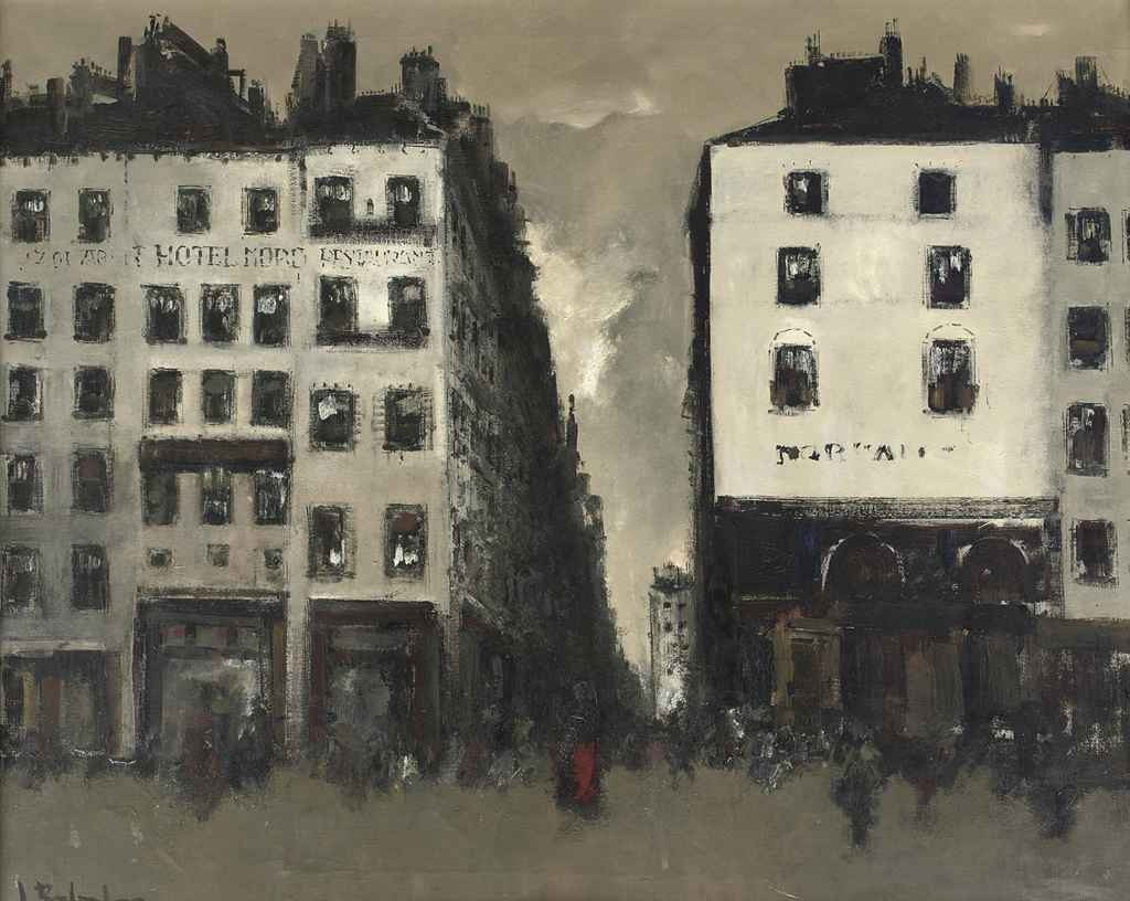 View of a street in Paris