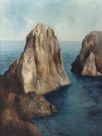 The coast of Capri
