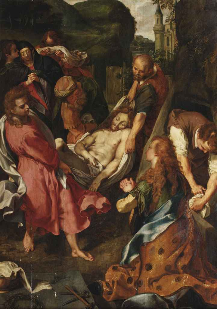 After Federico Barocci , The Entombment | Christie's