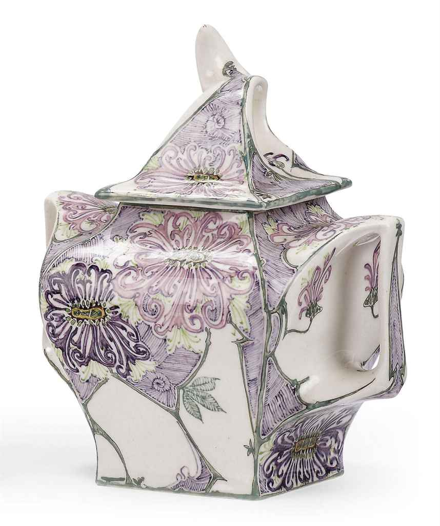 A Dutch egg-shell porcelain sugar bowl and cover