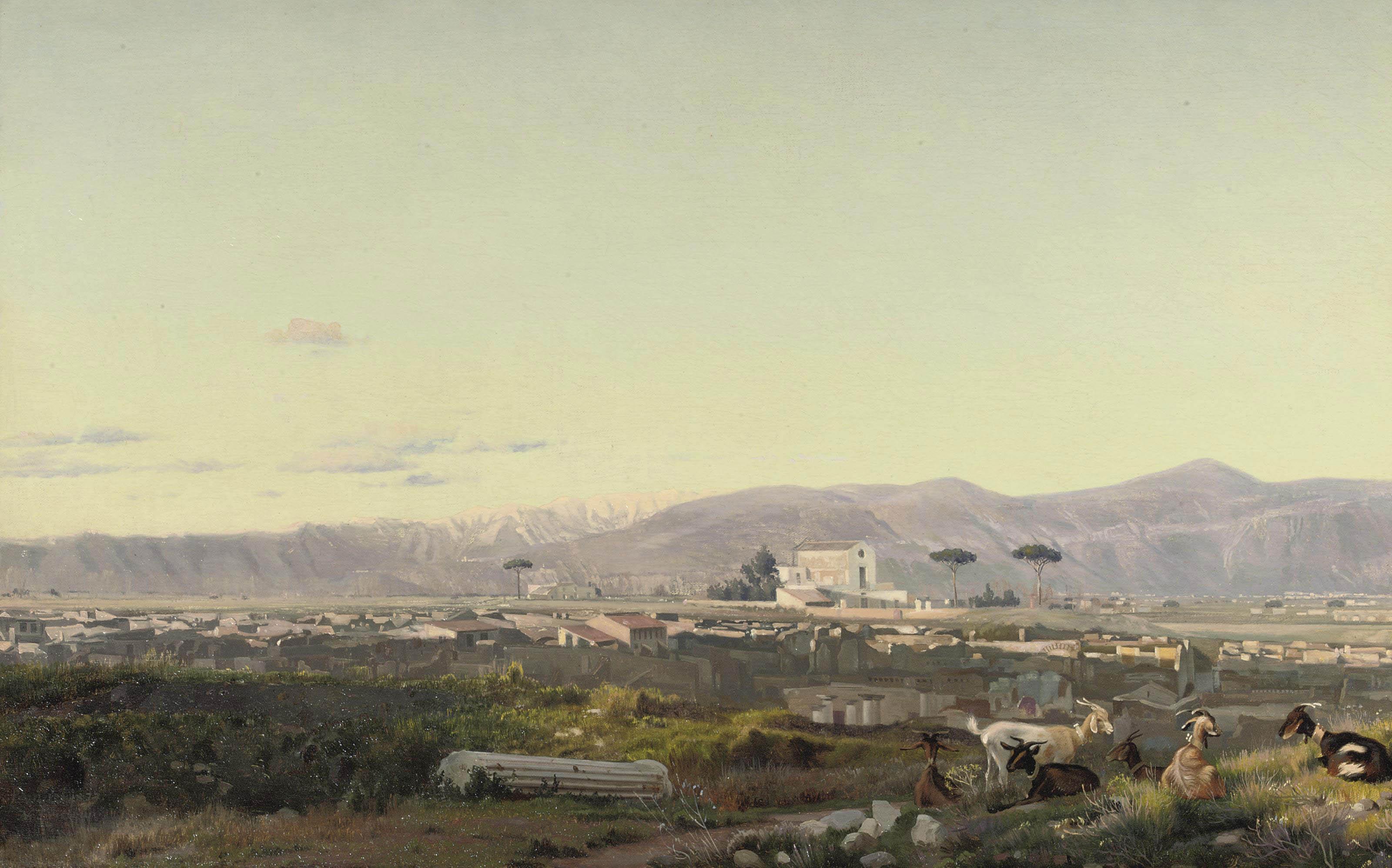 View of Pompei