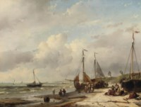 Fisherfolk and 'bomschuiten' on the Dutch coast