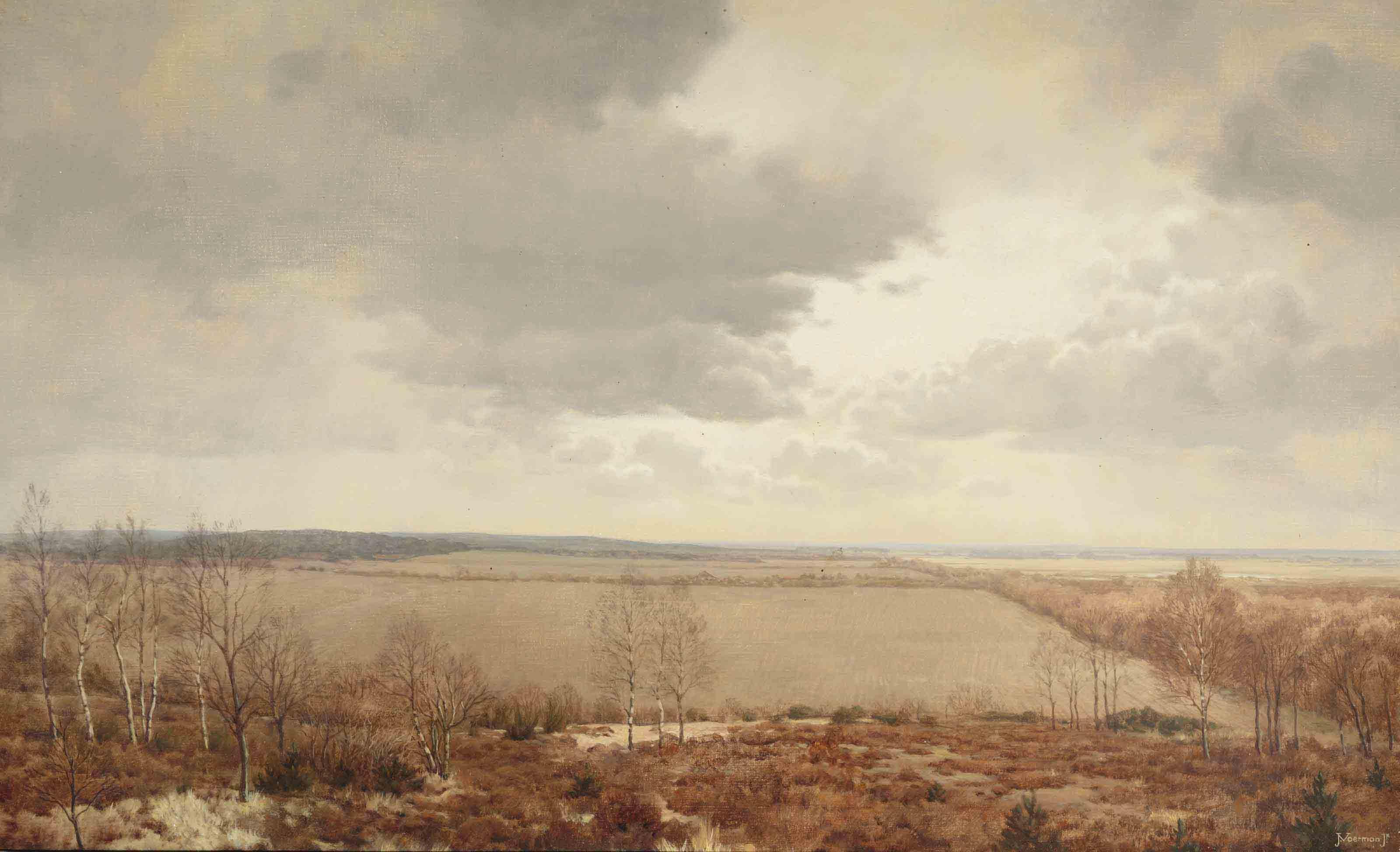 View from Huize Windewaai (Hotel de Witte Raaf), Hoenderloo