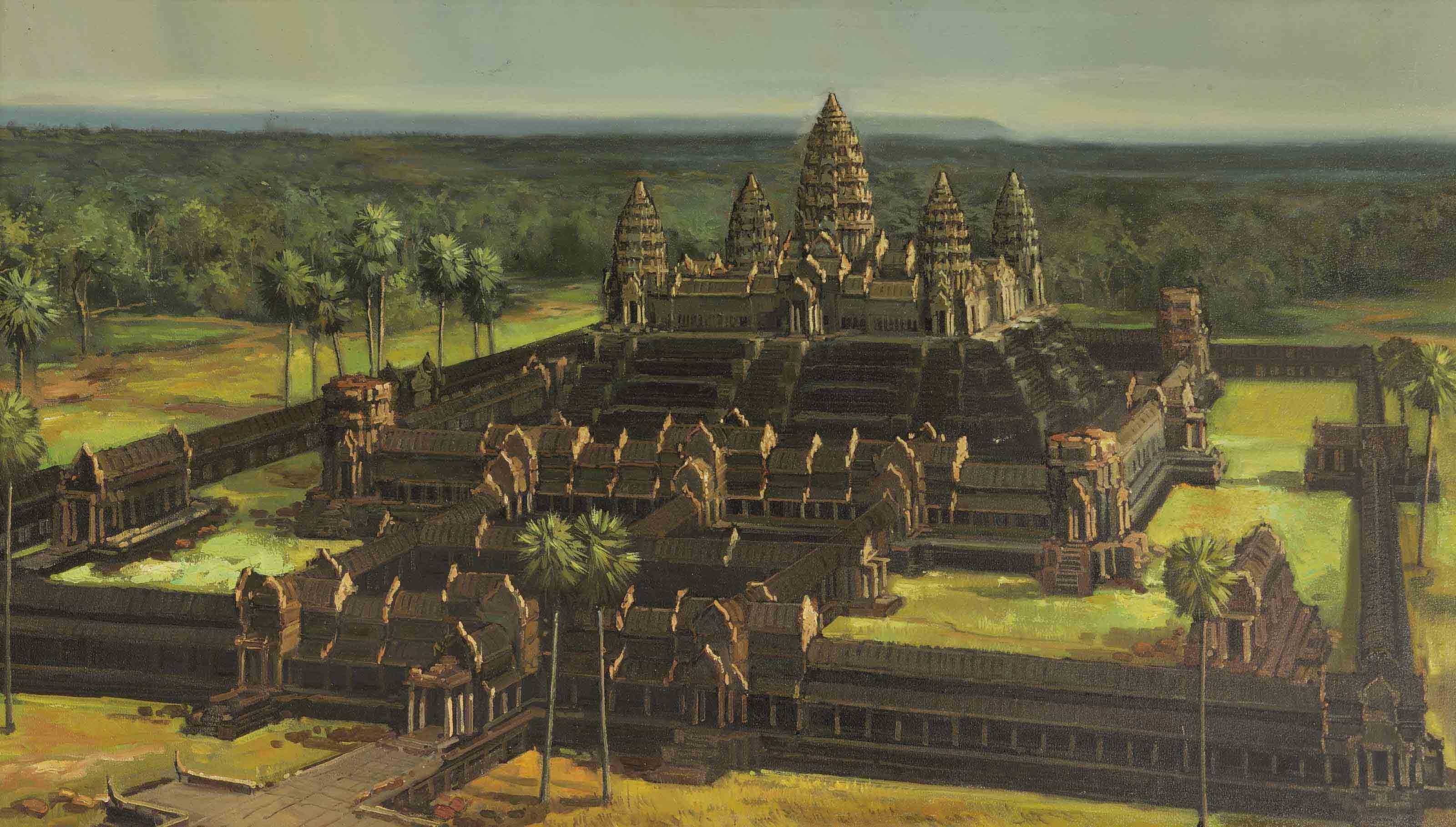 Angkorwat, Kambodscha
