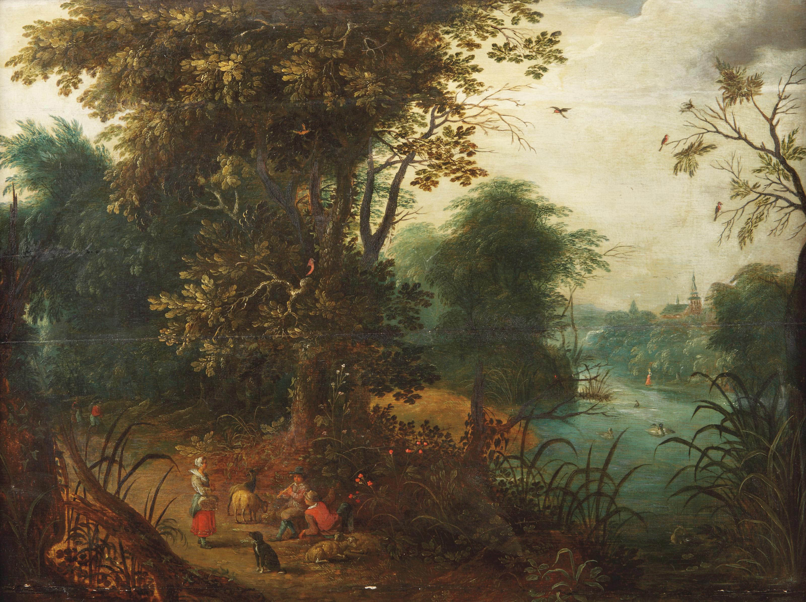 Attributed to Abraham Govaerts (Antwerp 1589-1626)