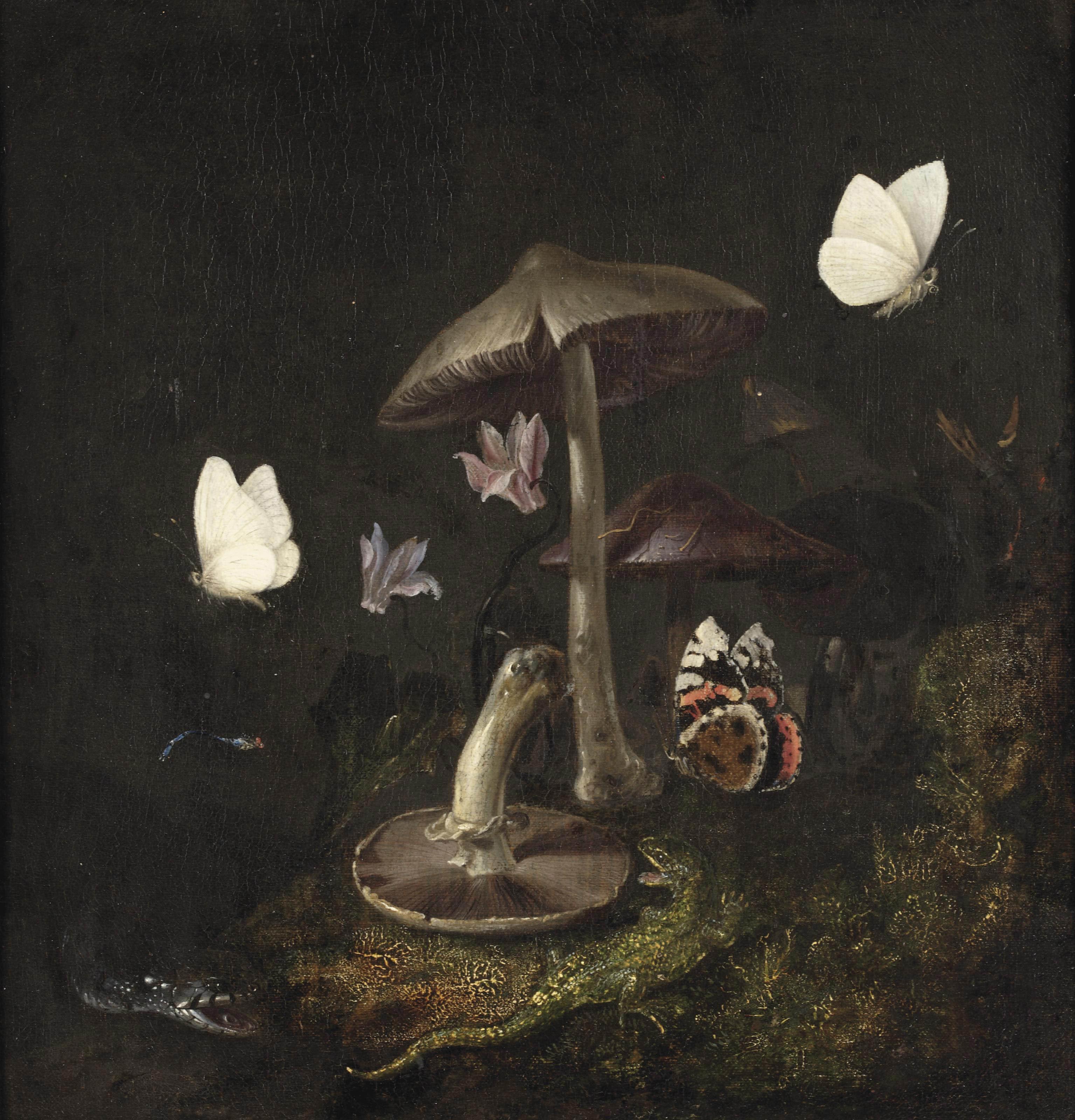 Otto Marseus van Schrieck (Nijmegen 1614/20-1678 Amsterdam)
