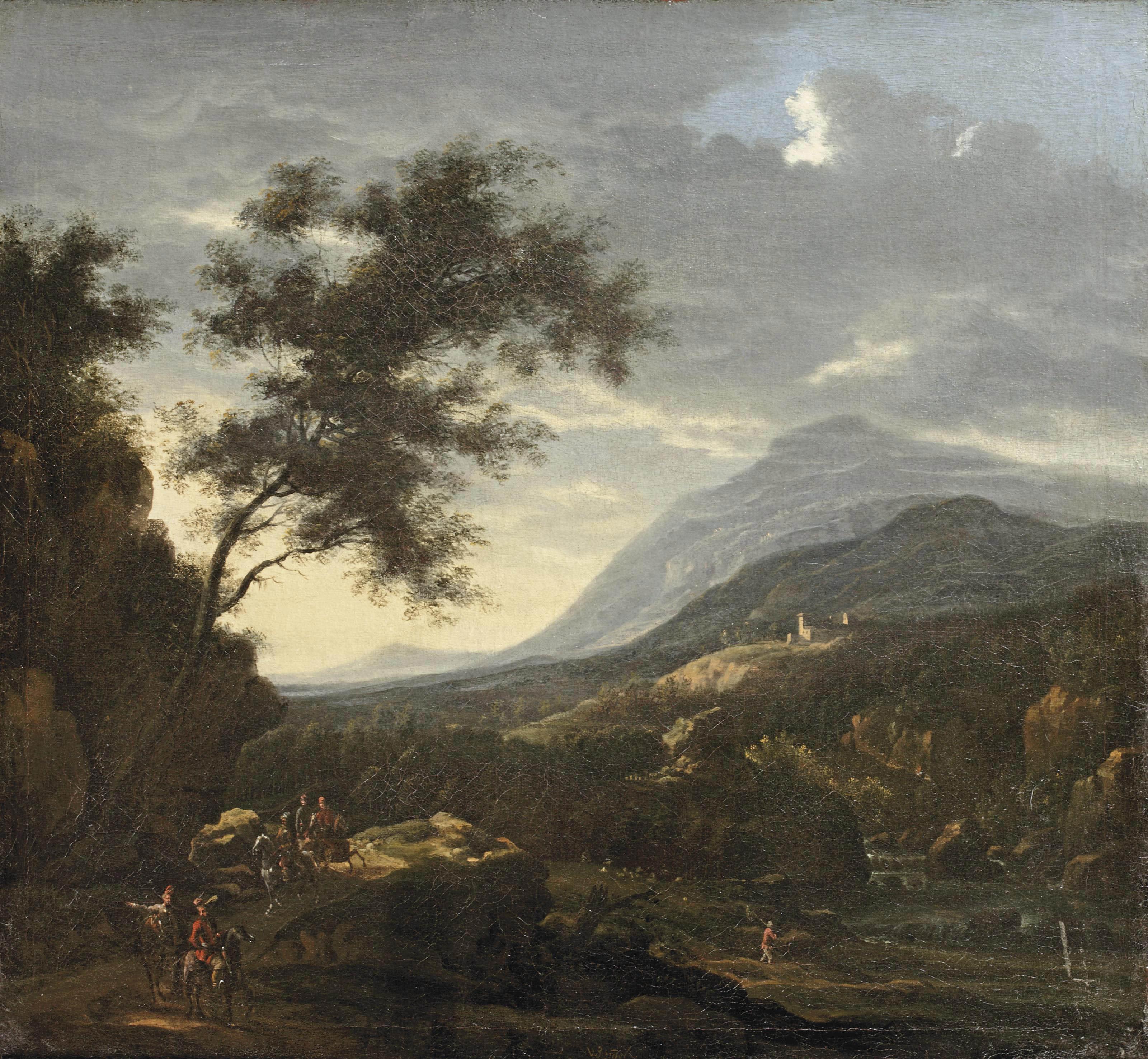 Willem van Bemmel (Utrecht 1630-1708 Neurenberg)