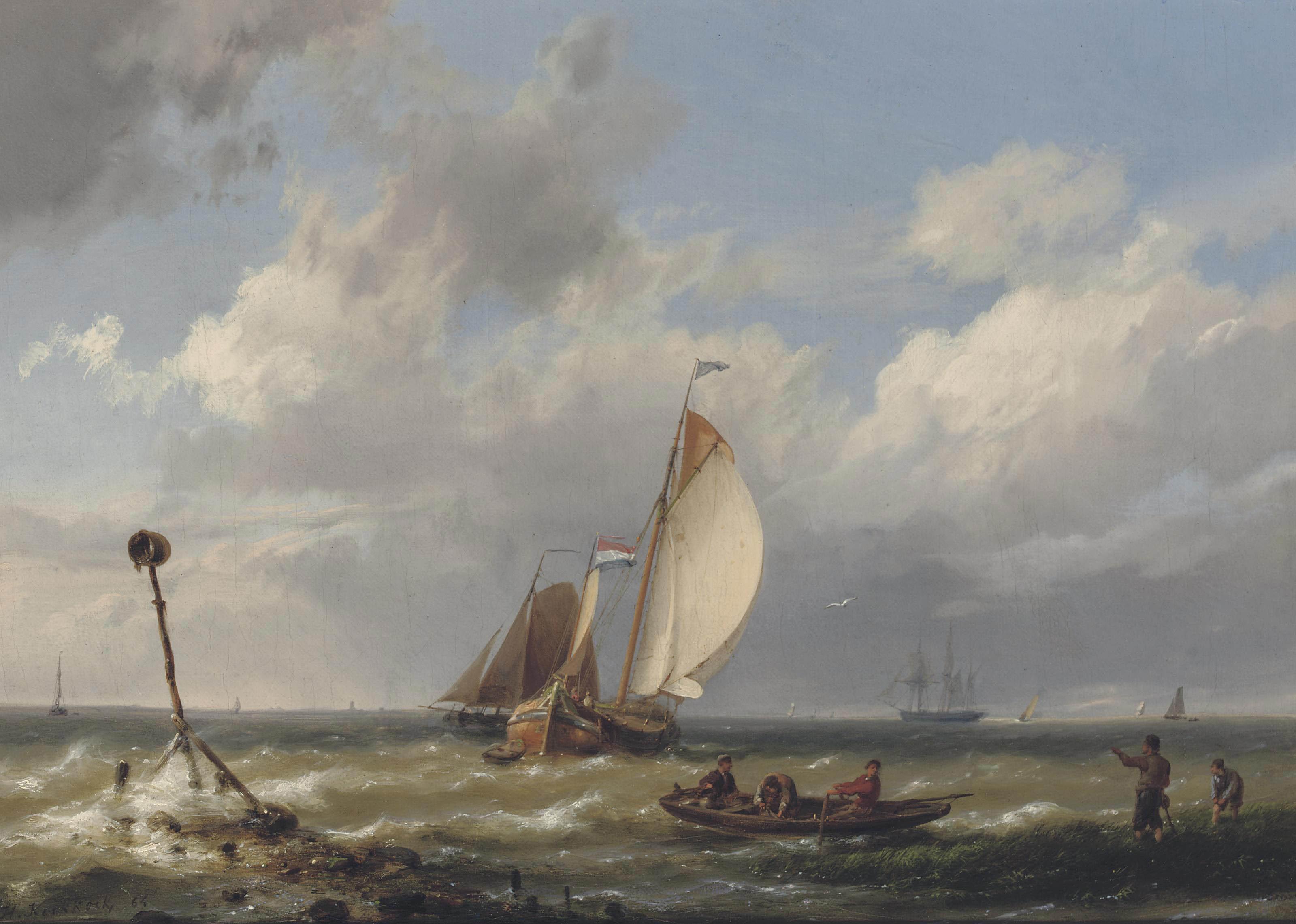 Hermanus Koekkoek Sen. (Middelburg 1815-1882 Haarlem)