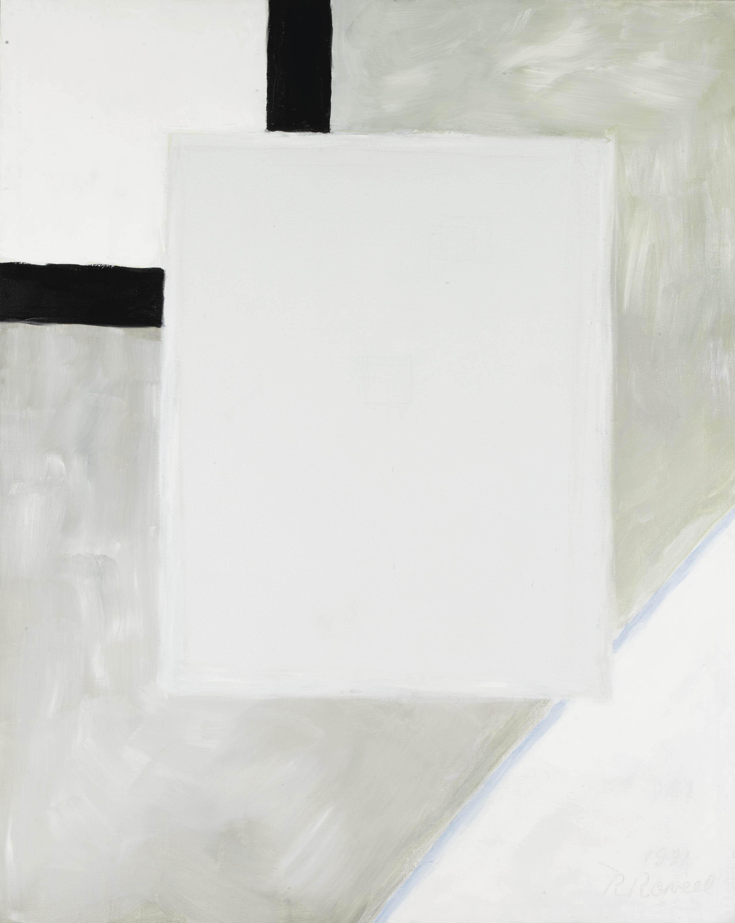 Interieur met rechthoek