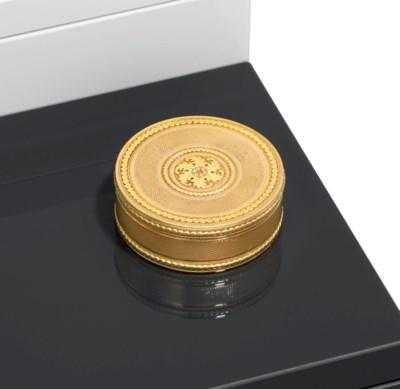 A LOUIS XVI VARI-COLOUR GOLD B