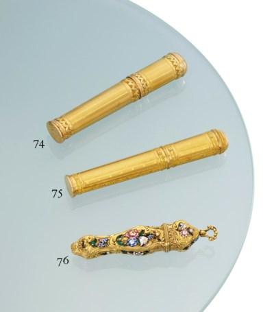 A LOUIS XV VARI-COLOUR GOLD SE