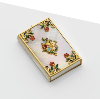 A VICTORIAN GOLD-MOUNTED AND P