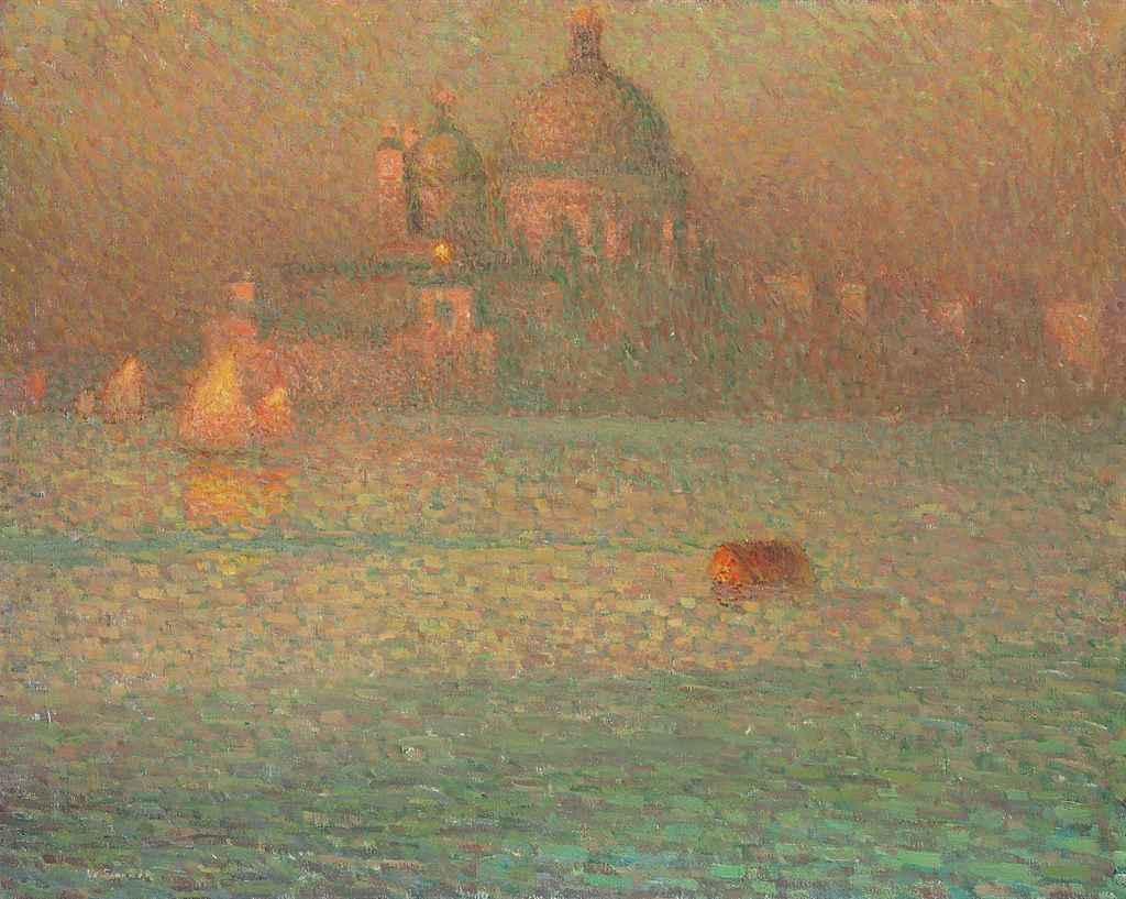 La Salute. Matin d'hiver, Venise