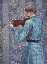 Marie-Anne Weber au violon alto ou Violoniste