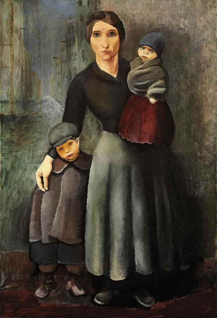 La mère et ses enfants