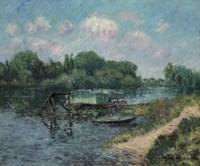 Lavoir sur la Seine à Herblay