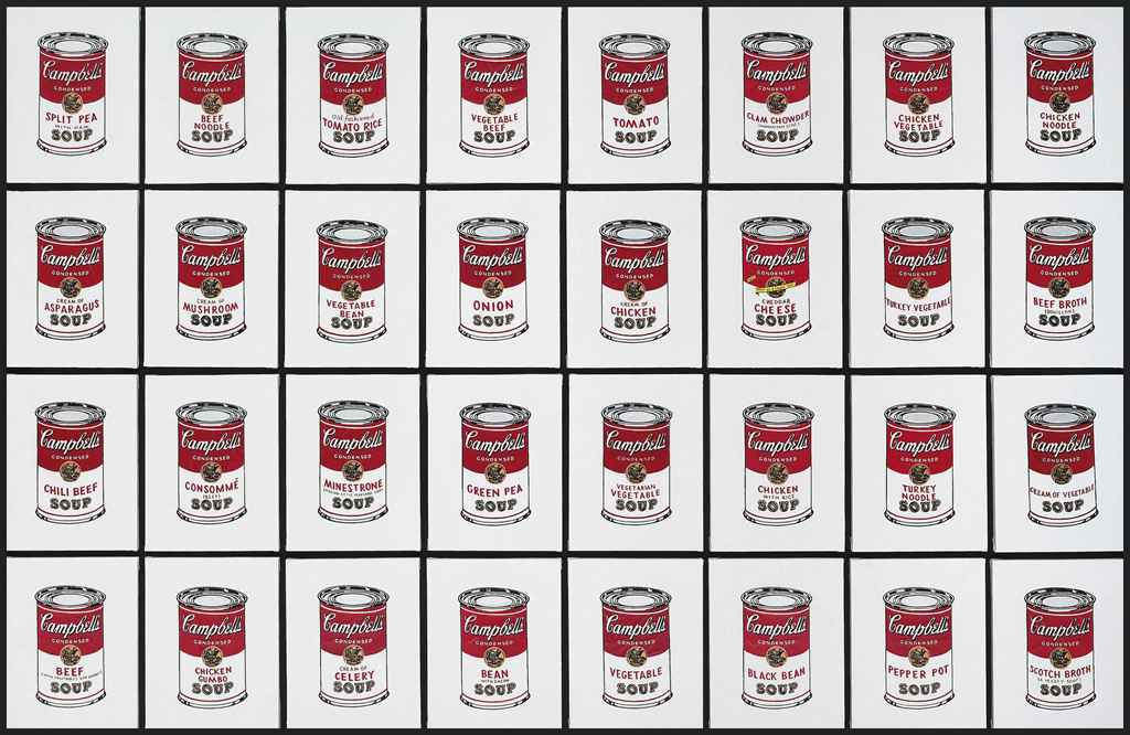 Andy Warhol, '32 Cans of Campbell's Soup', 1962