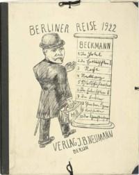 Berliner Reise 1922 (H. 212-222)