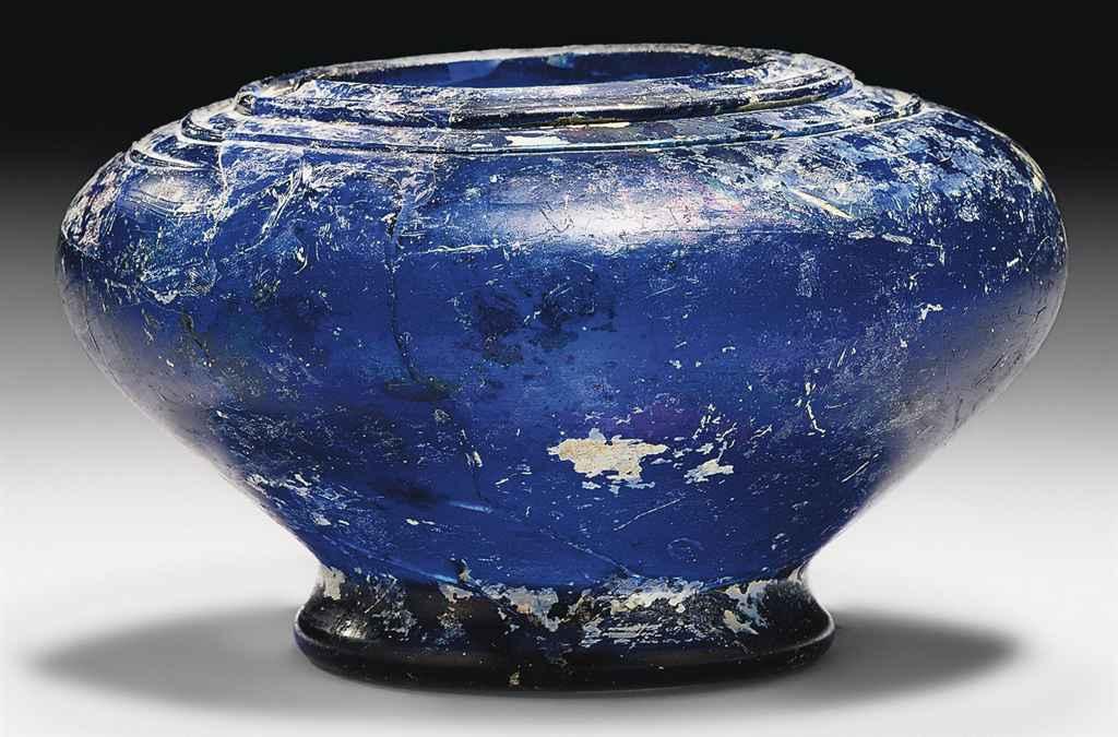 A MAMLUK COBALT-BLUE AND LUSTR