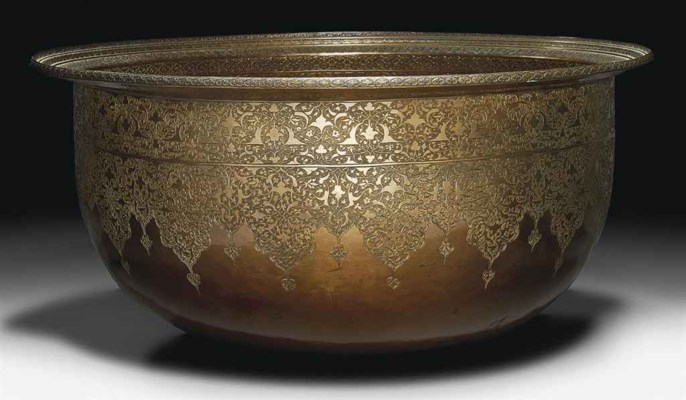 A MAGNIFICENT SAFAVID ENGRAVED