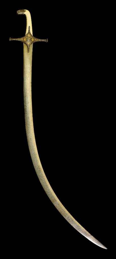 A LATE SAFAVID SWORD (SHAMSHIR
