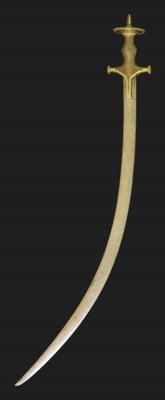 A MUGAHL SWORD (TULWAR)