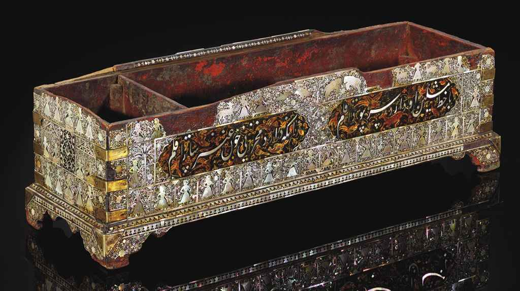 A GUJARATI MOTHER-OF-PEARL AND
