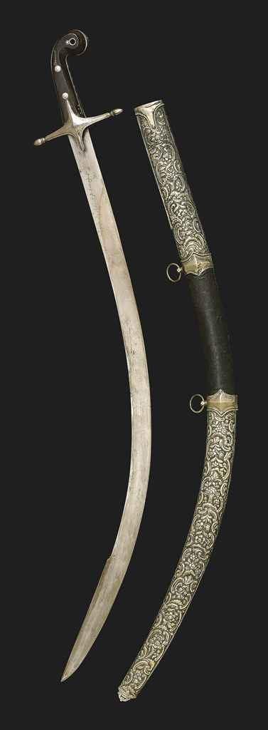 AN OTTOMAN SWORD ( KILIJ ) , SIGNED MUSTAFA, TURKEY, CIRCA ...