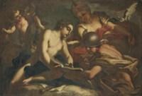 Mercury instructing Cupid in the Arts