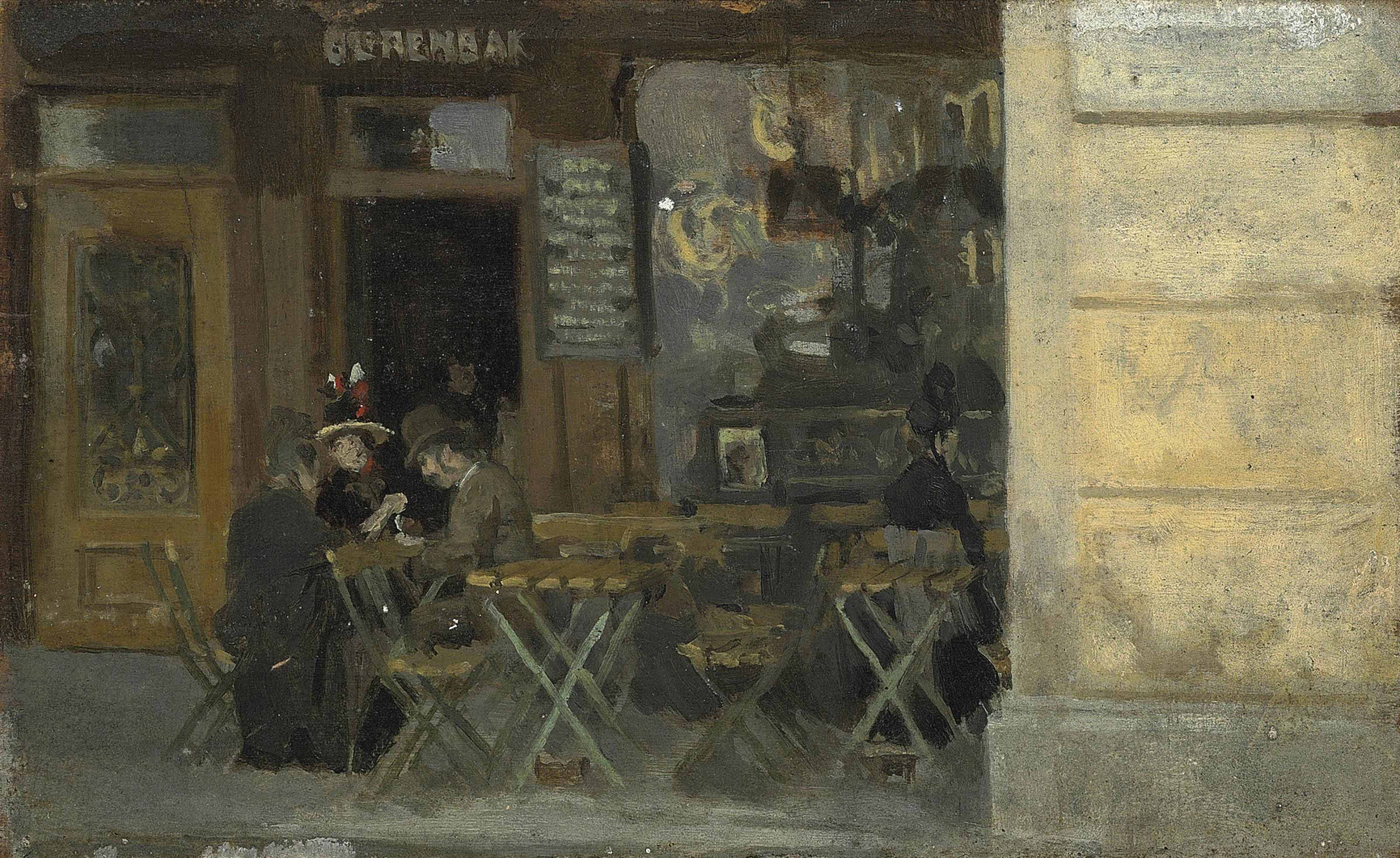 Café in Dieppe