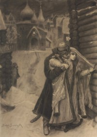 Kiribeevich and Alena Dmitrievna from The Song of the Merchant Kalashnikov