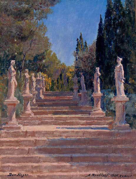 The sculpture garden at Ben-Negro, Bizerte