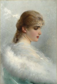 Portrait of a young beauty