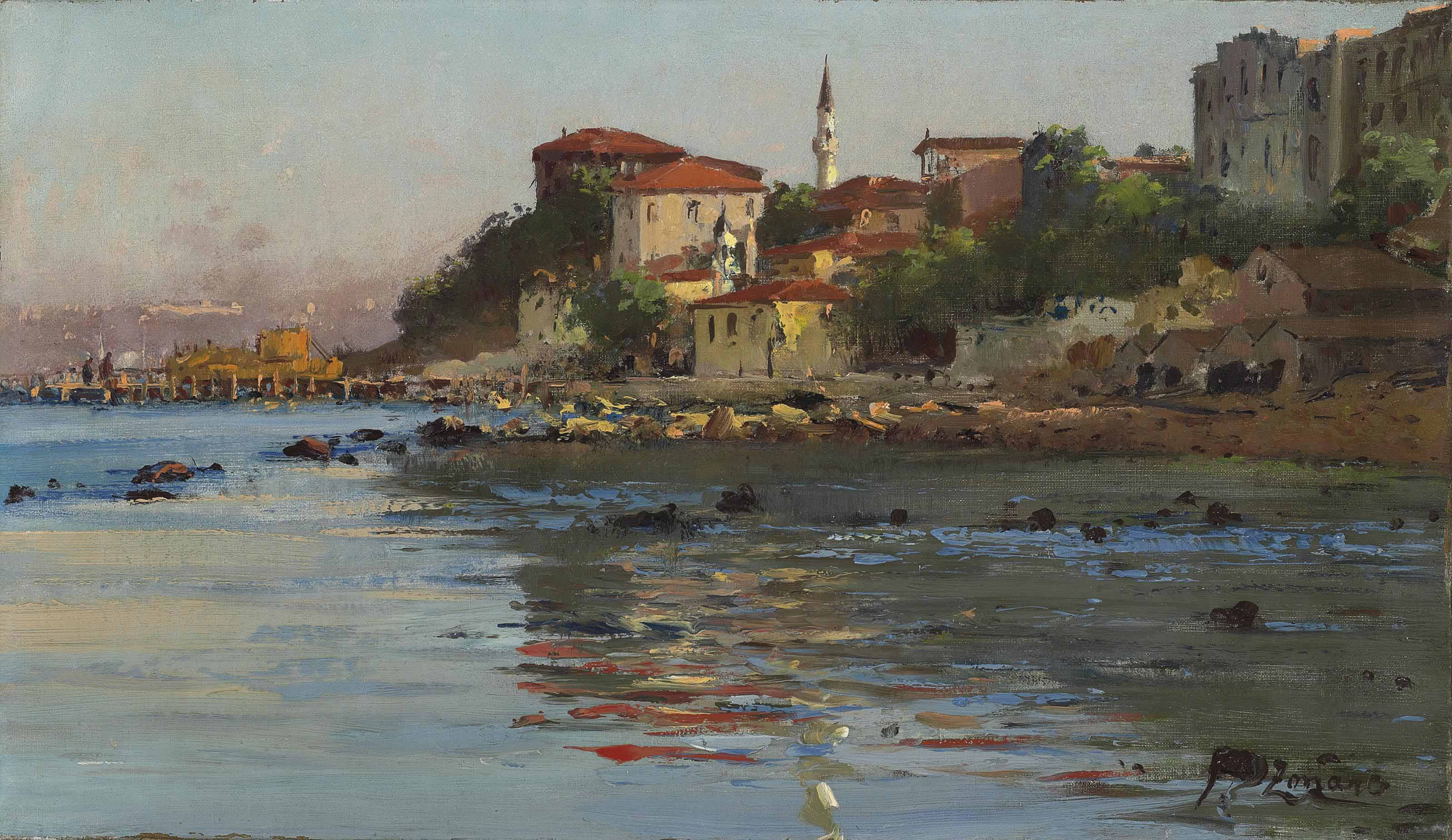 The shores of the Bosphorus